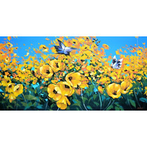 Dos Mariposas - Cuadros, Pinturas Al Oleo De Dmitry Spiros