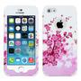 Funda Skin Case Carcasa Doble Protector Iphone 5s 5 Flores
