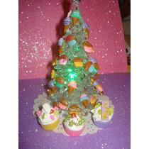 Arbolito D Navidad Acrilico Decorado Ideal Escritori Oficina