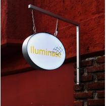 Mini Caja De Luz Led Personalizada Fácil Instalación