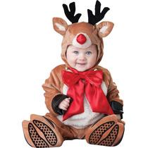 Disfraz Navidad Bebe Reno Duende Santa Monogalleta Gengibre
