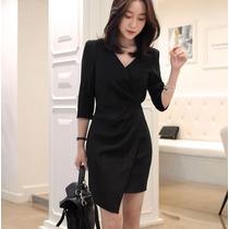 Vestido Formal Trabajo Elegante Oficina Envío Gratis 2214