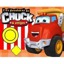 Gran Kit Imprimible Chuck Y Sus Amigos Diseñá Tarjetas, Cump