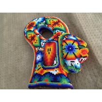 Figura De Piedra Decorada En Chaquira