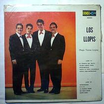Los Llopis Lp Raro Teen Tops Hooligans Rebeldes Rock Leo Dan