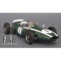 F1 Cooper T53 Jack Brabham Campeon De 1960 Schuco Esc. 1/18