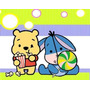Gran Kit Imprimible Winnie Pooh Bebe Diseñá Tarjetas , Cumpl