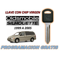 99-05 Oldsmobile Silhouette Llave Con Chip Virgen