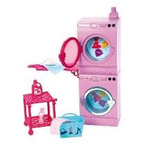Barbie Glam Lavandería De Muebles
