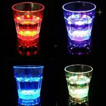 5 Vasos Shot Con Luz Fiesta