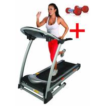 Caminadora Athletic 3200t Home Fitness Gym Ejercicio + Regal
