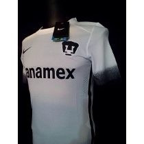Jersey Pumas Alternativo 2016 Nike Uniforme Blanco Nuevo