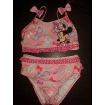 Traje De Baño Minnie Mouse Disney Collection Mimi Bikini