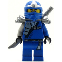 Tb Lego Ninjago Jay Zx Minifigure With Armor