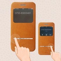 Funda Baseus Iphone 6s Y 6s Plus 5.5 Piel 100% Mica Gratis