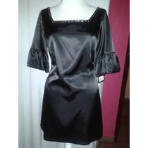 Vestido Negro Talla Mediana Gogo