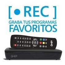 Ghia Sintonizador Digital Para Tv C/grabacion En Usb Gac-002