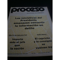 Proceso - Las Iniciativas Del Presidente... N° 320