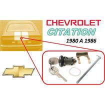 80-86 Chevrolet Citation Chapa Cajuela Llaves Color Negro