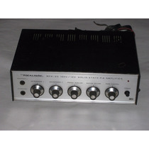 Mini Amplificador Realistic Mpa-20 (120v/ 12v) Mic Aux Phono