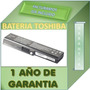 Bateria Para Laptop Toshiba Pa3816u-1bas Garantia 1 Año