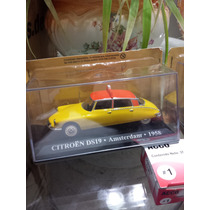 De La Coleccion Taxis Del Mundo. Citroen Ds.en Escala 1:43.