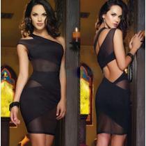 Vestido Corto Fiesta Sexy Juvenil Envío Gratis 2556
