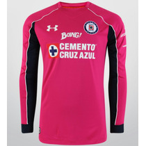 Jersey Original Cruz Azul Under Armour Portero Fiushia 2016