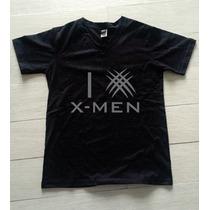 Playera I Love Xmen Wolverine Comic