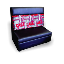 Sillon Booth Para Restaurante O Sala Lounge Bar Cafeteria