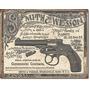 Poster Metalico Litografia Lamina Anuncio Smith & Wesson 189