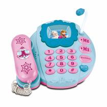 Teléfono Musical Disney Frozen Elsa Anna Olaf Juguete Niña