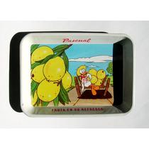 Mini Charola Lamina Refresco Pato Pascual, Original Vintage