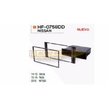 Base Frente Adaptador Estereo Nissan Np300 2016 Hf0758dd