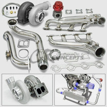 Turbo Kit Gt45 P/ Ford Mustang 5.0 79-93