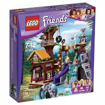 Lego Friends 41122 Adventure Camp Tree House 726pz