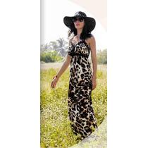 Vestido Animal Print Para Mujer