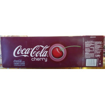 Refresco En Lata Coca Cola Cherry
