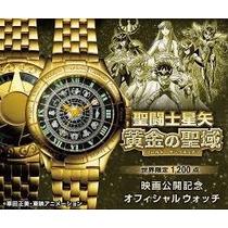 Saint Seiya Reloj Gold Sanctuary + The Movie Blu-ray Box 80s