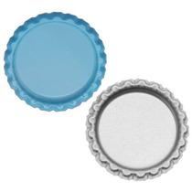 Tapas Corona Botella Plana Para Joyería/artesanía Azul Claro