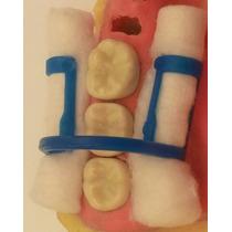 Sujetadores Dentales De Plásticos Para Rollos De Algodón