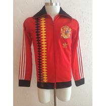 Chamarra Retro Selección España Adidas Originals Brasil 2014