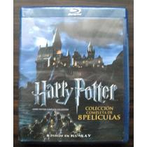 Harry Potter Colección 8 Películas Blu-ray (nueva)
