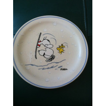 Plato Navideño Snoopy 3