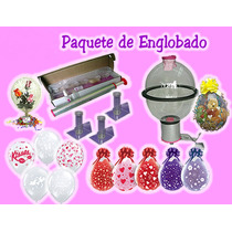 Paquete De Englobadoras De Regalos Peluches Y Flores