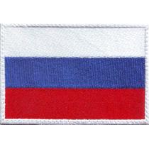 Rusia Europa Parches Bordados Banderas Paises Del Mundo