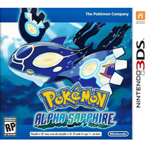 Pokemon: Alpha Sapphire - Nintendo 3ds 2ds