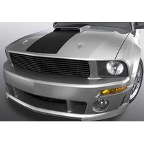Parrilla Negra Para Ford Mustang Gt V8 2005 - 2009