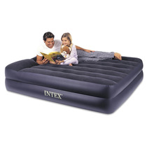 Tm Colchon Inflable Intex Pillow Rest Queen Airbed