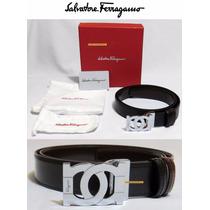 Cinturon Salvatore Ferragamo Cruzado Envio Gratis Meses S/